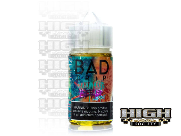 Don't Care Bear Iced Out by Bad Drip 60ml - High Society Supply