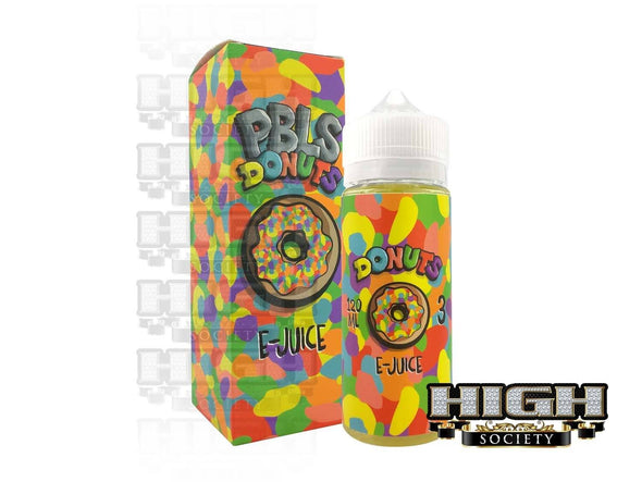 PBLS Donut by Donuts E-Juice 120ml - High Society Supply
