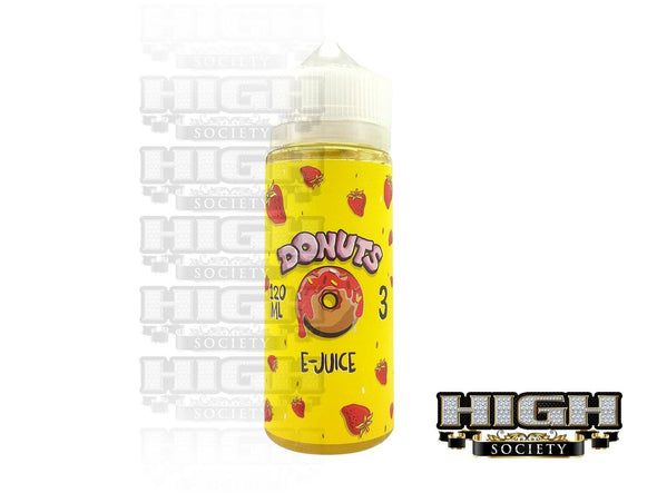 Donuts EJuice Strawberry Donuts EJuice 120ml - High Society Supply