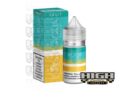 Flow by AQUA E-Juice Salts 30ml - High Society Supply
