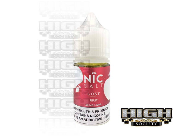 Fruit by Nic Salt GOST Vapor 30ml - High Society Supply