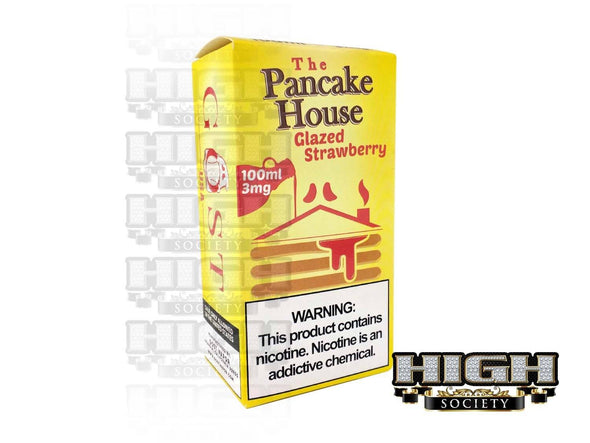 Glazed Strawberry by GOST The Pancake House 100ml - High Society Supply