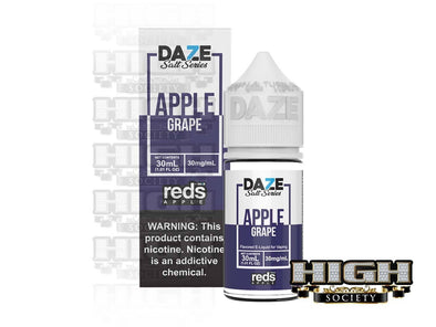 Reds Grape Salt by 7 Daze Salt Series 30ml - High Society Supply