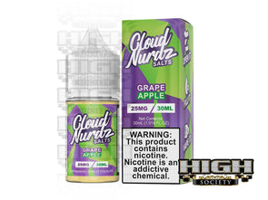Grape Apple by Cloud Nurdz Salt 30ml - High Society Supply