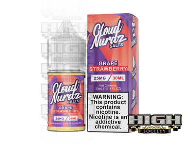 Strawberry Grape by Cloud Nurdz Salt 30ml - High Society Supply