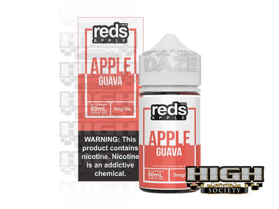 Guava Reds Apple by Reds Apple E-Juice 60ml - High Society Supply