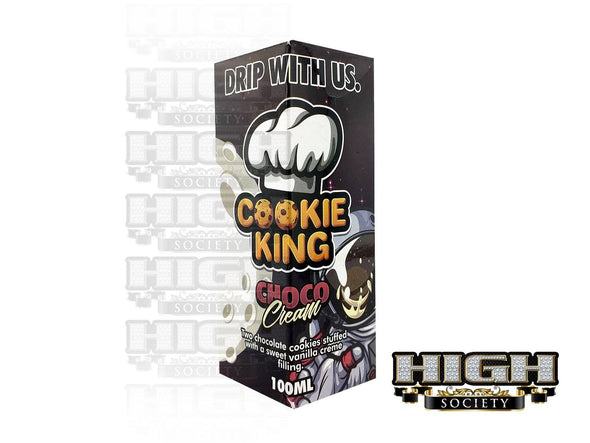 Choco Cream by Cookie King 100ml - High Society Supply