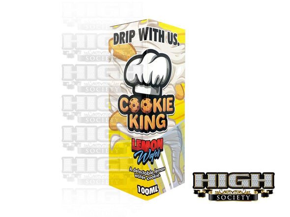 Lemon Wafer by Cookie King 100ml - High Society Supply