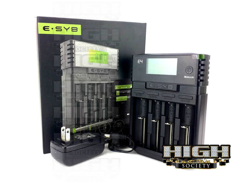 ESYB E4 Bluetooth Battery Charger - High Society Supply