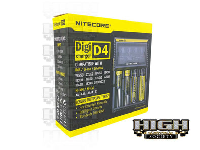 Nitecore D4 Battery Charger - High Society Supply