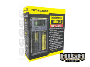 Nitecore New i2 Battery Charger - High Society Supply