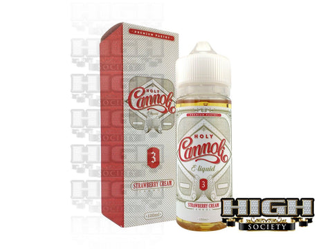 Holy Cannoli Strawberry Cream Cannoli 120ml