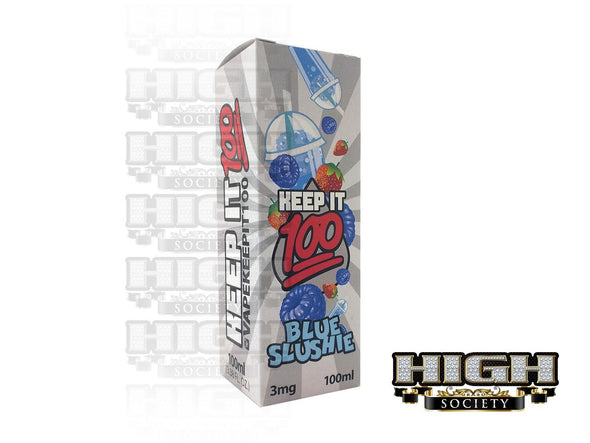 Blue Slushie by Keep It 100 E-Juice 100ml - High Society Supply