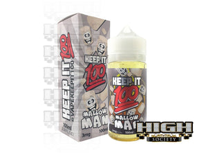 Mallow Man by Keep It 100 E-Juice 100ml - High Society Supply