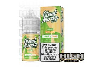 Kiwi Melon by Cloud Nurdz Salt 30ml - High Society Supply