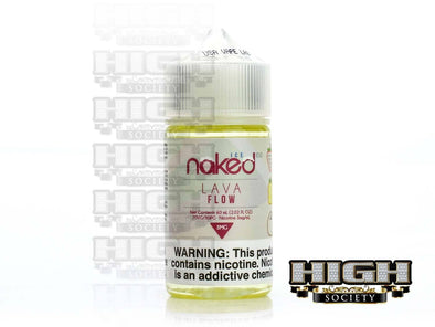 Lava Flow Ice by Naked 100 Ice E-Liquid 60ml - High Society Supply