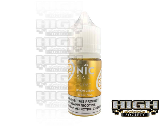Lemon Cream by Nic Salt GOST Vapor 30ml