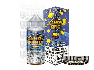 Lemon Drops by Candy King 100ml - High Society Supply