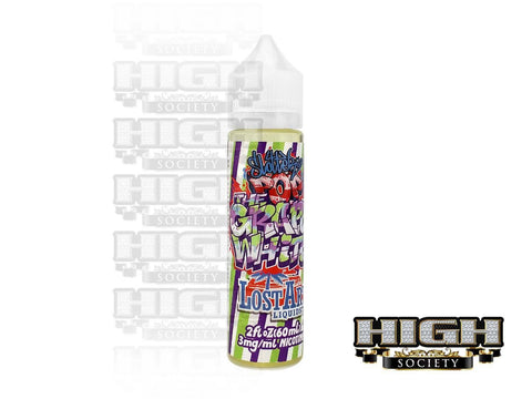 Slotter Pops The Grape White Lost Art Liquids  60ml