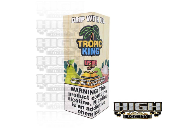 Lychee Luau by Tropic King 100ml - High Society Supply