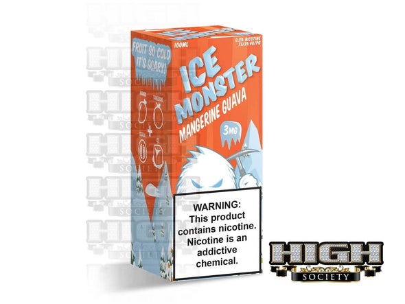 Mangerine Guava by Ice Monster 100ml - High Society Supply
