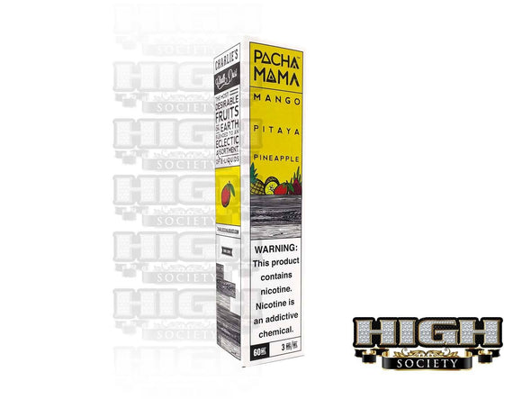Mango Pitaya Pineapple by Pachamama E-Liquid 60ml - High Society Supply