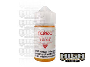 Naked Unicorn by Naked 100 Cream E-Liquid 60ml - High Society Supply