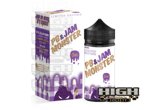 PB & Jam by Jam Monster 100ml - High Society Supply