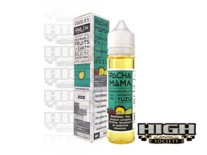 Passion Fruit Raspberry Yuzu by by Pachamama E-Liquid 60ml - High Society Supply