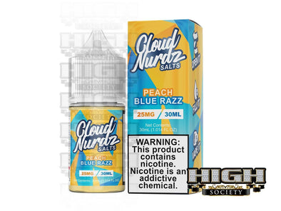 Peach Blue Razz by Cloud Nurdz Salt 30ml - High Society Supply