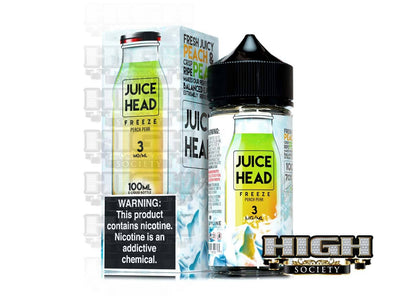 Peach Pear by Juice Head Freeze 100ml - High Society Supply