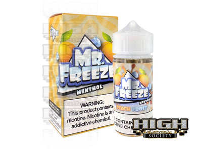 Peach Frost by Mr. Freeze 100ml