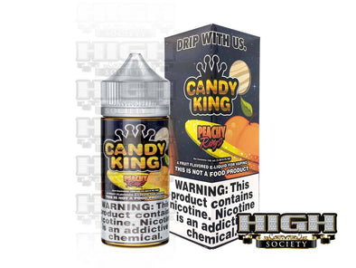 Peachy Rings by Candy King 100ml - High Society Supply