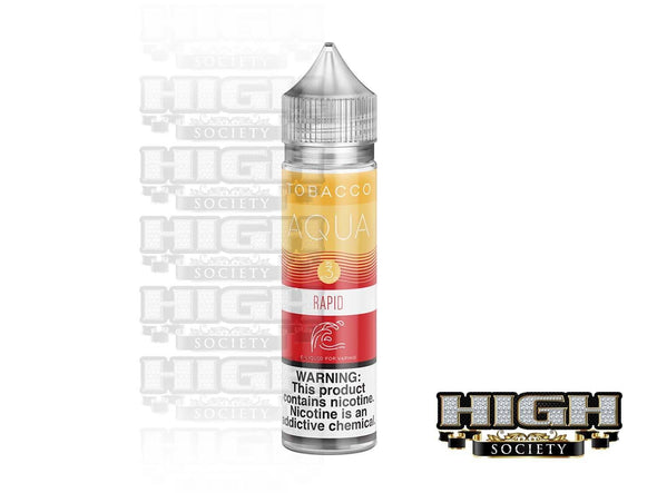 Rapid by AQUA Tobacco E-Juice 60ml - High Society Supply