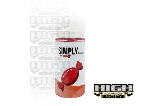 Simply Sweet Red Candy 100ml