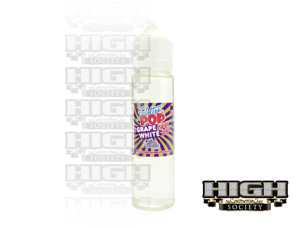 Slotter Pops The Grape White Max VG E-Juice 60ml
