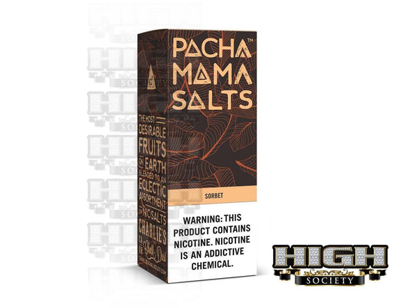 Sorbet by PACHAMAMA Salts 30ml - High Society Supply