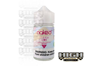 Straw Lime by Naked 100 Fusion 60ml - High Society Supply