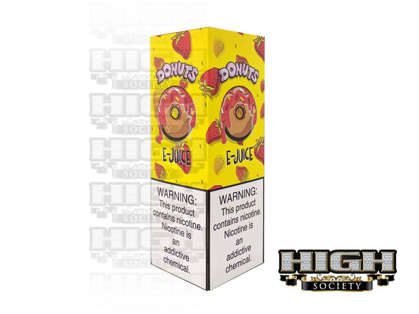 Strawberry Donuts by Donuts E-Juice 120ml - High Society Supply