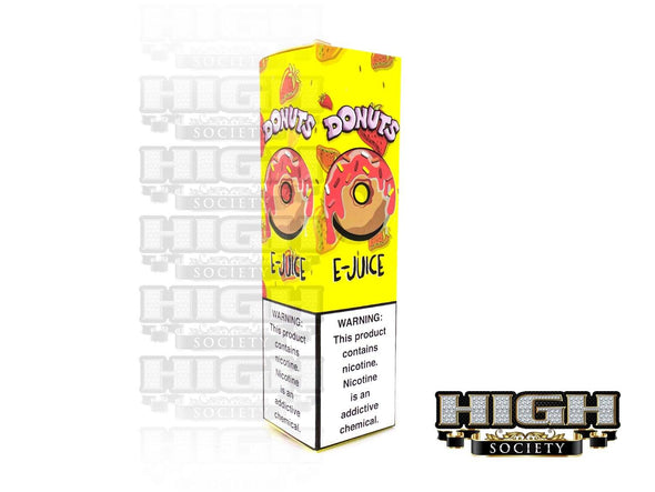 Strawberry Donuts by Donuts E-Juice 60ml - High Society Supply