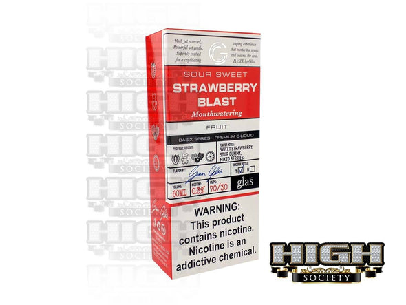 Strawberry Blast by Glas Basix Series 60ml