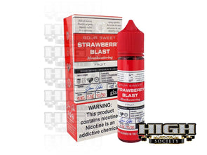 Strawberry Blast by Glas Basix Series 60ml - High Society Supply