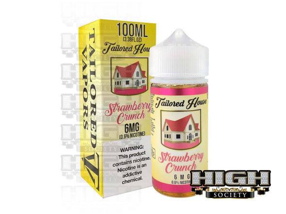 Strawberry Crunch by Tailored House 100ml - High Society Supply