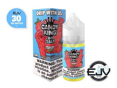 Strawberry Rolls by Candy King On Salt 30ml Nicotine Salt Candy King On Salt