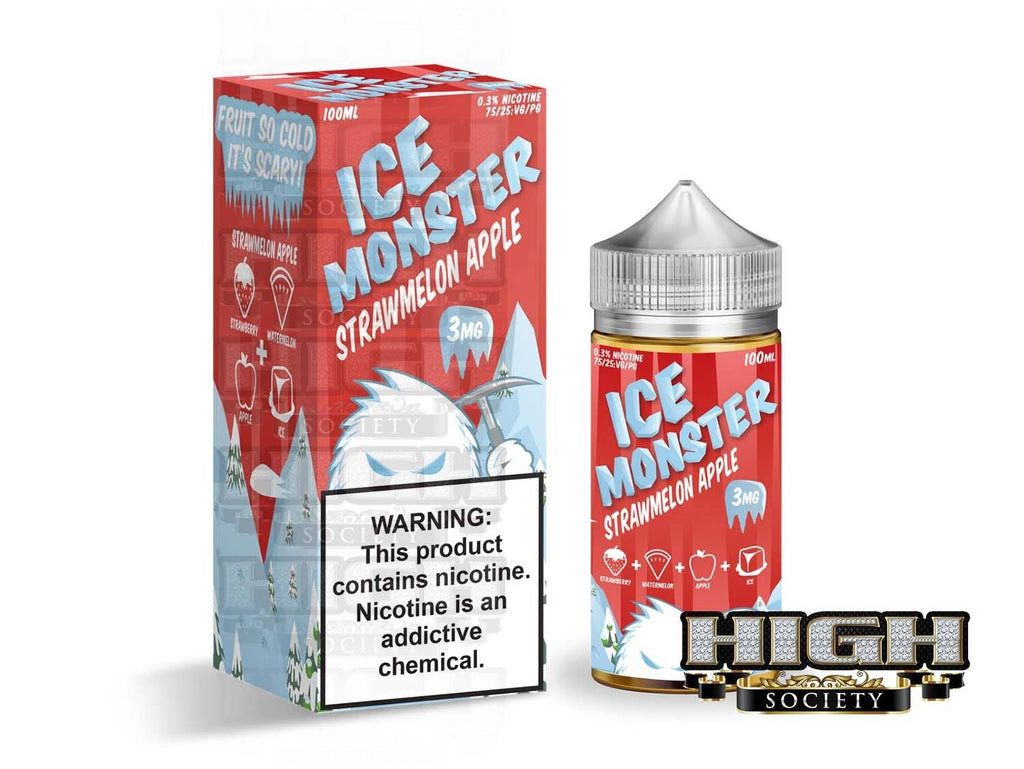 Strawmelon Apple Ice by Ice Monster 100ml