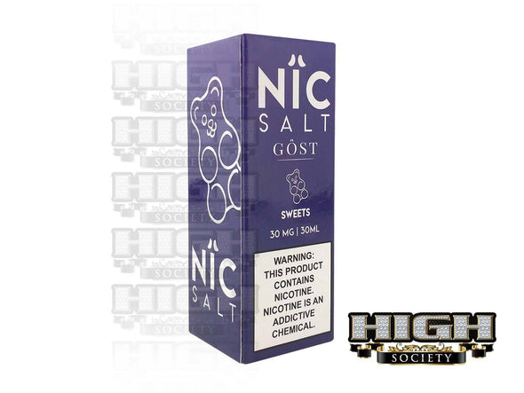 Sweets by Nic Salt GOST Vapor 30ml - High Society Supply