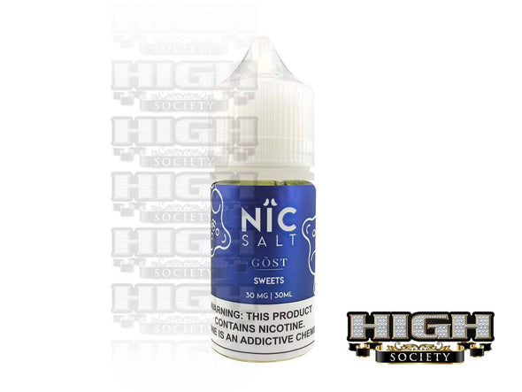 Sweets by Nic Salt GOST Vapor 30ml