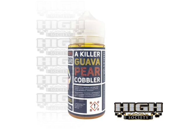 Guava Pear Cobbler by The Creator of Flavor 100ml - High Society Supply