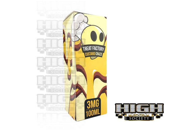 Custard Craze by Air Factory Treats 100ml - High Society Supply