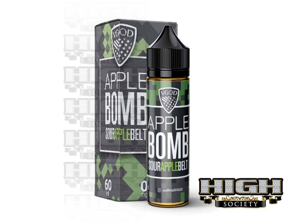 Apple Bomb by VGOD Tricklyfe E-Liquid 60ml - High Society Supply